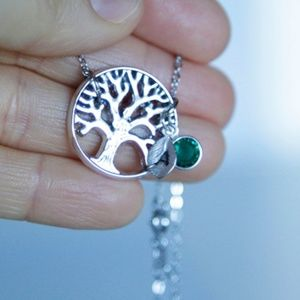 Handmade Jewelry - Tree Of Life Necklace, Personalized, Handmade 🌸